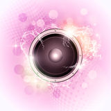 Bright Music Background Royalty Free Stock Photo