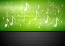 Bright music vector background Stock Image