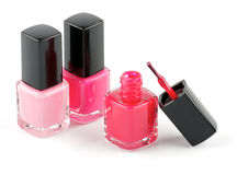 Bright Nail Varnish Stock Photos