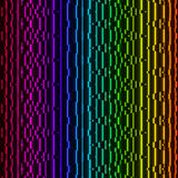 Bright Neon Lines Background. Stock Photos