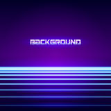 Bright neon lines background Royalty Free Stock Image