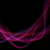 Bright neon swoosh speed wave background Royalty Free Stock Photos