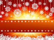 Bright new year and cristmas card. EPS 8 Stock Photos