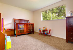 Bright nursery room Royalty Free Stock Images