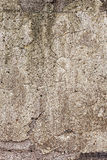 Bright old concrete wall with cracks Stock Photos