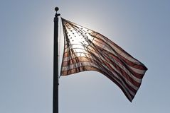 Bright Old Glory Stock Images