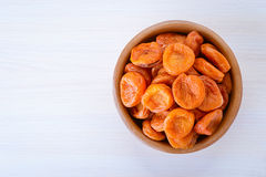 Bright orange apricots Stock Photos