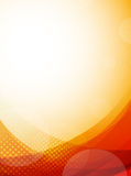 Bright orange background Stock Images