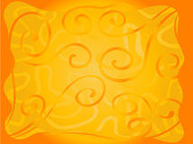 Bright orange background Royalty Free Stock Image