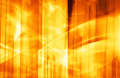 Bright orange background Stock Images