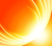 Bright orange background royalty free illustration