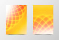 Bright orange background stock illustration