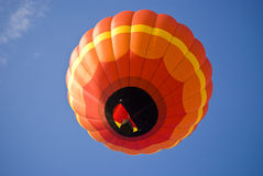 Bright Orange Balloon2 Royalty Free Stock Photography