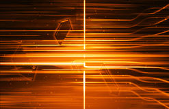 Bright orange beams Royalty Free Stock Photo