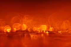 Bright orange blurry background Royalty Free Stock Photos