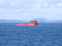 Free Bright Orange Boat Royalty Free Stock Images - 2684449