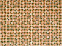 Bright orange ceramic Wall Stock Photography
