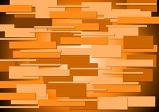 Bright orange concept background Royalty Free Stock Photos