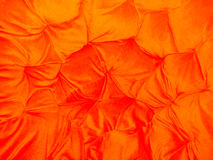 Bright Orange Fabric Background Royalty Free Stock Photos