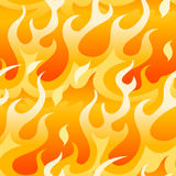Bright orange flames. Stock Photos