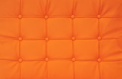 Bright orange leather Royalty Free Stock Photography