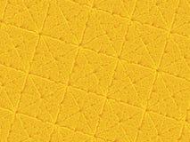 Bright orange modern abstract fractal art. Background illustration, square pattern with irregular ridges. Creative graphic templat Royalty Free Stock Photos