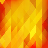 Bright OrangePolygonal Mosaic Background, Vector illustration, Creative Business Design Templates. Abstract Background for Design. Stock Images