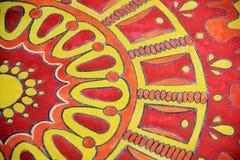 Bright ornamental pattern 2 Royalty Free Stock Photography