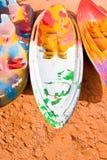 Bright painted kayak Stock Image