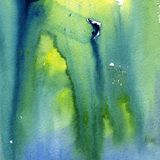 Bright painted watercolor texture Royalty Free Stock Image