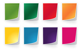 Bright  papers Stock Photo
