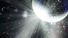 Bright patches of light on disco ball. tinted Royalty Free Stock Images