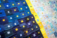 Bright patchwork fragment background Royalty Free Stock Photography