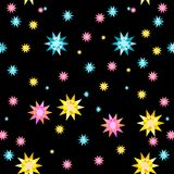 Bright pattern. In fashion trend colors Royalty Free Stock Image