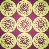 Bright pattern. Bright seamless pattern in stylish colors Royalty Free Stock Photo