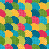 Bright pattern of circles. Stock Images