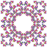 Bright pattern for kerchief Royalty Free Stock Photography