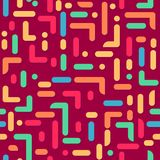 Bright pattern memphis style for fabric, background, paper, packaging. stock illustration