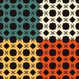 Bright pattern 1. Seamless pattern. Minimalism. Bright Color Stock Photography