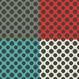 Bright pattern 3. Seamless pattern. Minimalism. Bright Color Stock Images