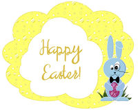 Bright patterned Easter card Royalty Free Stock Photography