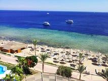 Bright photo of coast beach Stock Image