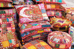 Bright pillows Royalty Free Stock Image