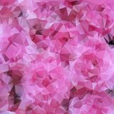 Bright pink background polygon Royalty Free Stock Photography