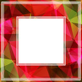 Bright pink border Royalty Free Stock Photo