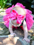 Bright Pink Bow Royalty Free Stock Photos