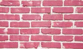 Bright pink brick wall Royalty Free Stock Photography