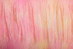 Bright pink cloth for background. Or wallpaper royalty free stock image