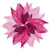 Bright pink flower royalty free stock photos