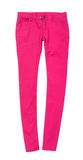 Bright pink jeans Stock Photography